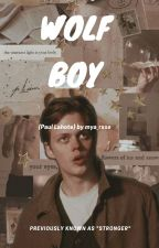 Wolf Boy {Paul Lahote} by mya_rxse