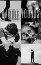 Battle Wounds: Solangelo Soulmate AU by femboy_h00ters2020