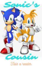 Sonic's Half-Mobian cousin by AuroreDoyon15