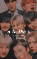 𝐀 𝐭𝐨 𝐭𝐡𝐞 𝐙   ateez bxb one-shots by moonbabey