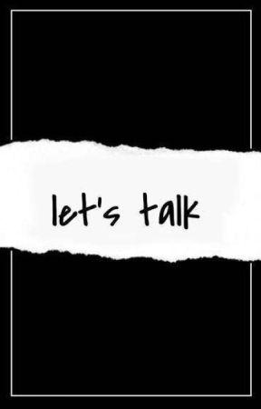 Let's Talk by bariomoun_