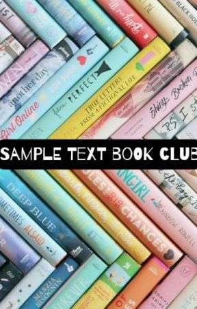 Sample Text Book Club (Open) by SampleTextBookClub