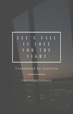v-trans | haikyuu!! | let's fall in love for the night