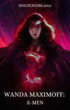 Wanda Maximoff- Xmen by GoldenGirl1001