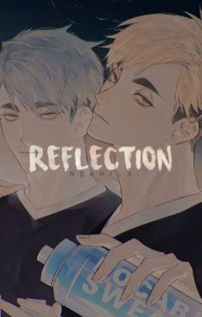 REFLECTION ─ miya twins. #SIMPCULTURE by Nephila_