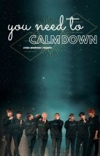 You Need To Calm Down| Ateez Group Chat Crackfic by TheHappyFreak