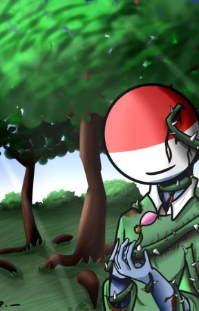 The Falling Petals - Countryhumans  by skyreee
