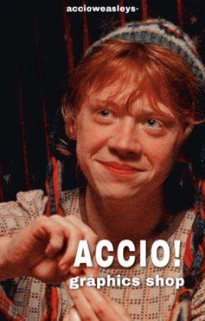ACCIO | GRAPHICS SHOP by accioweasleys-