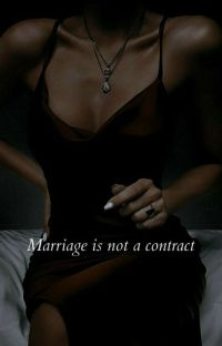Marriage is not a contract  cover