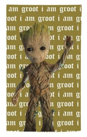 I AM GROOT; misc/spam by -SCRAWLED