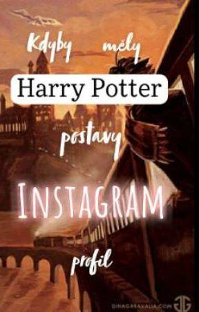 Kdyby měly Harry Potter postavy profil na Instagramu by kla_rus10