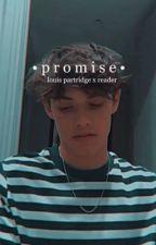 promise | louis partridge x reader by kpara27