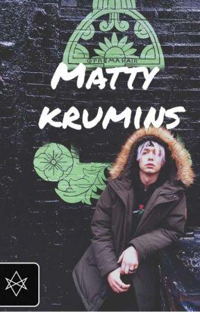 Matty Krumins ✨ by shiningwithgold