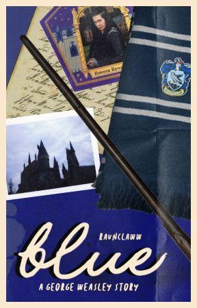 blue → george weasley by RAVNCLAWW