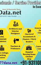 Indian Professionals, Services & Commercial Data Provider - 9311082480 by 77datanet