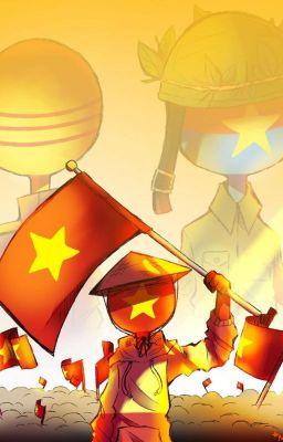 ( Đằng sự nụ cười tỏa sáng )- Countryhumans Vietnam