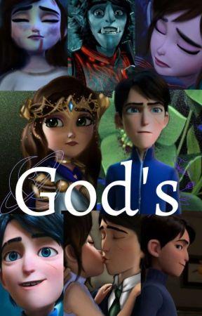 GOD'S : Book 2 , EL CIELO EN TUS OJOS  Jim lake X  lectora   by leona895
