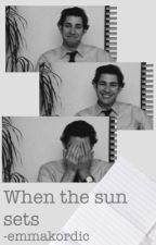 When the sun sets (Jim Halpert) by -emmakordic
