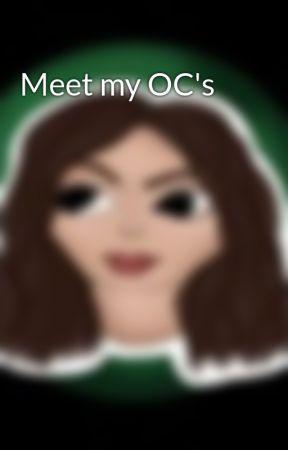 Meet my OC's by Timebreaker300