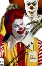 ronald mcdonald x pennywise by obamas_left_toes