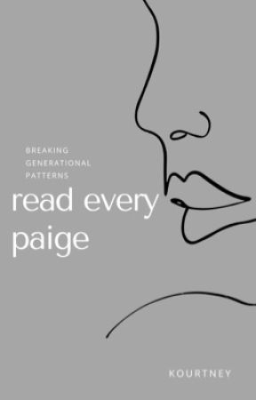 read every paige. by fiftyslays