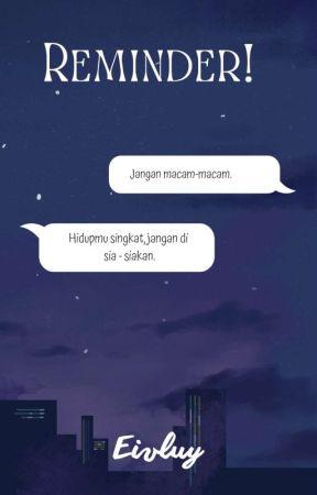 Reminder! by viskaaanzz