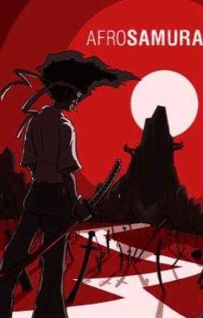 """Blue Blades"" Afro Samurai x reader by Izuukuuu"
