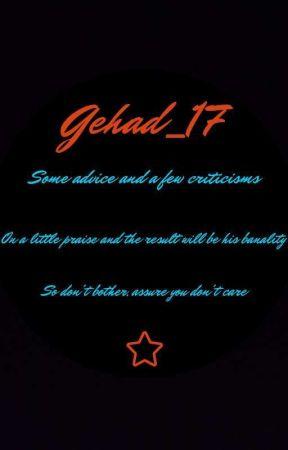 مصارحات  by Gehad_17