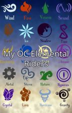 My OC Elemental Riders Book by yvang5