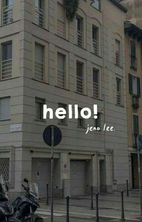 [1] hello. Jeno ✓ by aclownbean-