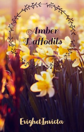amber daffodils (completed ✔️) by EvighetInvicta