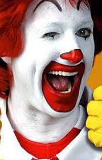 Smile!Ronald McDonald x reader cover
