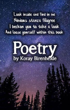 Poetry by Koray Birenheide by Sagamund