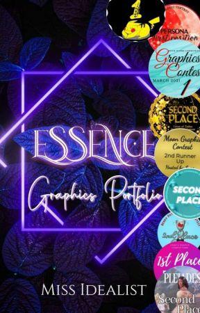 ESSENCE: A Graphic Portfolio  by _miss_idealist_