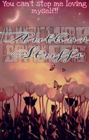Author Stuffs by _Sugarita