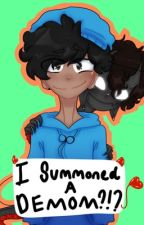 I summoned a demon?!? (skephalo) by Puffy_Peachy