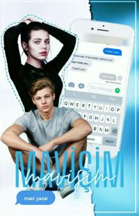 MAVİŞİM   Texting cover