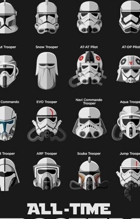 the clone army all troop varients by kamran788