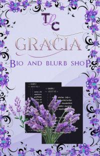 Gracia Bio and Blurb Shop cover