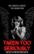 Taken Too Seriously- An Andy Gibb and Karen Carpenter Fanfiction by seventiesforever