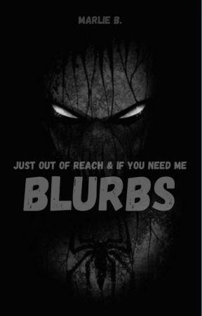 'Just Out Of Reach' Series Blurbs by _marlie_b