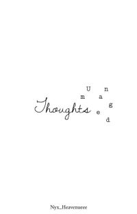 Unmanaged Thoughts cover
