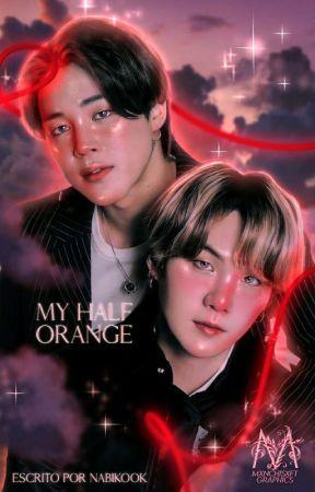 My half orange ; YoonMin/윤민 by Nabikook