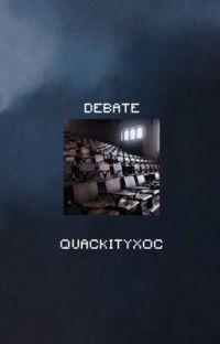 debate {quackity} cover