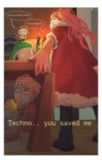 Techno.. you saved me || MCYT fan fiction ( Tommy and technoblade) || by sweetkat3