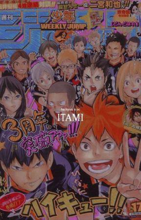 Itami ─ haikyuu x oc by acke_chan