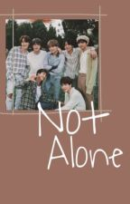 Not Alone || Hybrid BTS x Reader ||  by icedpeachteaa