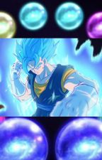 Son of the diamond fusion (male vegito oc x steven universe) by 999966darkness