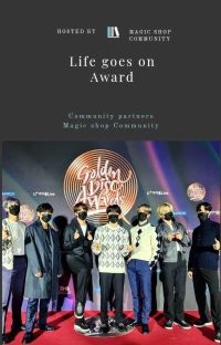 LIFE GOES ON AWARD [Closed] cover