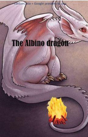 Albino Dragon by CatEyeCutie